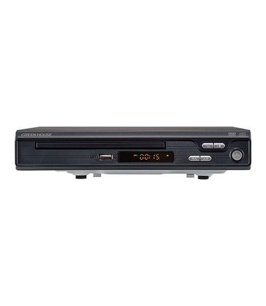【新品】グリーンハウス HDMIケーブル付きDVDプレーヤー GH−DVP1G−BK/グリーンハウス